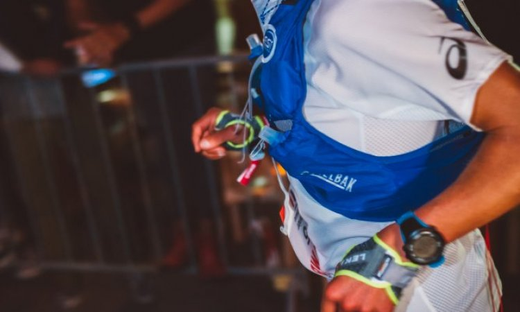 Xavier thevenard en pleine course UTMB 2019