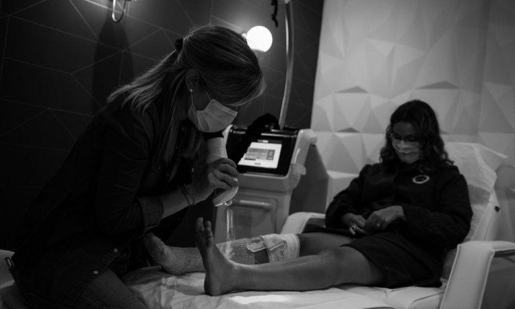 Séance de cryothérapie localisée à Annecy