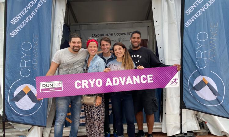Équipe Cryo ADVANCE au grand complet cryoadvance Lyon 6 , Lyon 7, Bourgoin Jallieu et Annecy